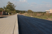 Access road – Logistic Park in Modlniczka by Cracow
